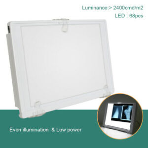 Full View Dental X ray Film Viewer Illuminator Hang A4 12w Led Light Box Panel