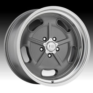 American Racing Vintage Vn511 Salt Flat Mag Gray 20x8 5x5 0mm Vn51128050400