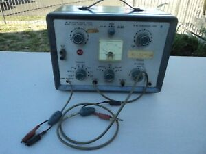 Vintage Rca Fm Signal Simulator Wr 52a Generator Radio Receiver Test Equipment