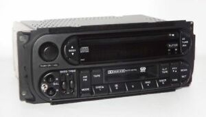 Jeep 2003 Liberty Am Fm Cd Cassette Radio Upgraded W Auxiliary Input Jack Raz