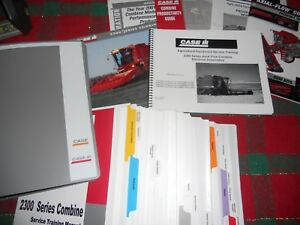 Case Ih 2300 Series Combine Training Manual Free Shipping In Usa