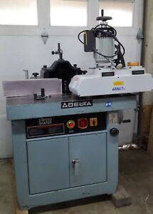 Delta 43 791 Heavy Duty 5 Speed 7 5hp Shaper With Extras
