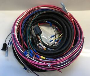 1953 1954 Chevy Truck Wiring Harness 6 Or 12 Volt With Alternator