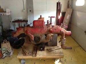 Waterous Barton American Fire Pump On Heavy Duty Dual Output Ih Pto Water
