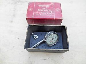 Starrett No 196b Universal Back Plunger Dial Indicator