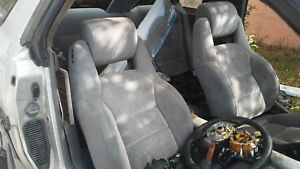 Toyota Mk3 Supra Front Seats Driver And Passenger Oem