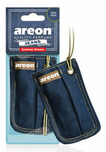 Areon Jeans Bag Car Air Freshener Quality Perfume Summer Dream Scent