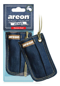 Areon Jeans Bag Car Air Freshener Quality Perfume Verano Azul Scent