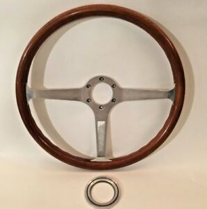 Vintage Momo Morretti Signature 380mm Steering Wheel With Cover Ring