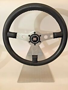 Vintage Momo Sebring 350mm Steering Wheel With Momo Horn Button