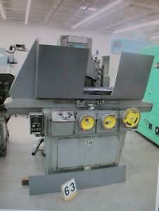 Brown Sharpe Reciprocating Surface Grinder Micromaster 824 8 x24