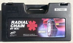 Security Chain Company Sc1022 Radial Chain Cable Traction Tire Chain Set Of 2
