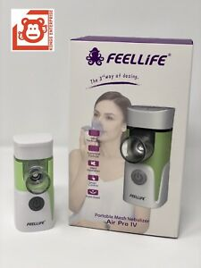 2x Feellife Portable Mesh Ultrasonic Nebulizer Air Pro Iv 1yr Factory Warranty