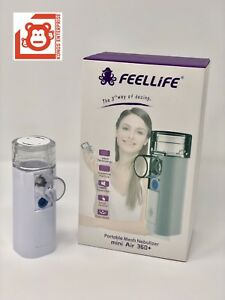 2x Feellife Portable Mesh Ultrasonic Nebulizer Mini Air 360