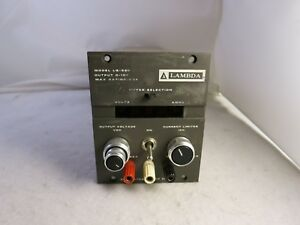Lambda Lq 520 0 10v 5a Variable Regulated Lab Dc Power Supply
