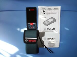 Bosch 400 Ft Blaze Outdoor Connected Laser Measure With Camera Viewfinder New