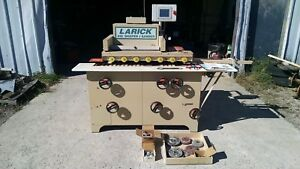 Larick 410f Woodworking Shaper Sander Machine 7 5 Hp 230v 3 Phase