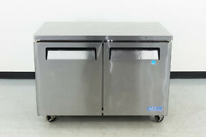 Used Turbo Air Mur 48 48 2 Door Undercounter Refrigerator