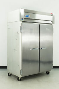 Used Mccall 4 4045f 2 Door Top Mount Reach in Freezer