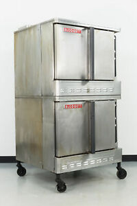 Used Blodgett Dfg 100 Double Deck Gas Convection Oven Full Size