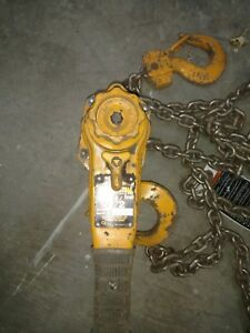 Harrington 1 1 2 Ton Lever Chain Hoist