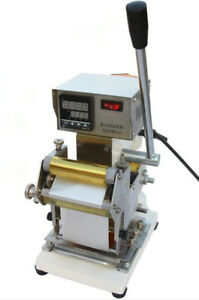 Brand New Hot Stamping Machine Manual Card Stamping Press
