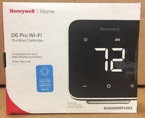 Honeywell D6 Wi fi Ductless Controller thermostat Dc6000wf1001