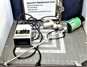 Stirrer Mixer With Speed Control 2000rpm Lightnin Labmaster Pristine a7s3