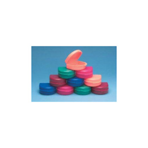 Keystone 0921523 Bo Boxes Orthodontic Retainer Cases Assorted Colors 100 pk