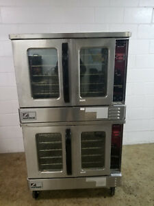 Southbend Natural Gas Gs25cch Double Stack Full Size Convection Oven Tested