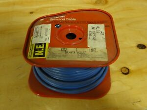 Belden 9272 Coaxial Cables 20awg 1c Shield 100ft Spool Lt Blue