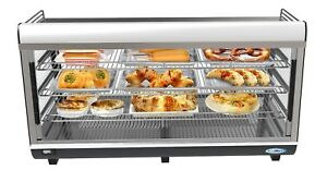 Commercial 48 Countertop Food Warmer Display Case Merchandiser 6 5 Cu Ft
