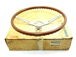 1969 Camaro Chevelle Nova Nos Rosewood Steering Wheel Gm W Box Gm Part 3960722