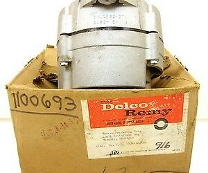 64 65 Corvette Chevelle Nova Full Size Nos Ac Delco Alternator 1100693 4l20