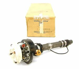 62 63 64 65 Corvette Chevelle Nos Corvette Dual Point Distributor Gm 1110985