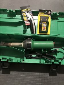 Used Leister Roofing Heat Gun With Carry Case