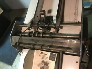 Rosback 220 Pro Perforating And Scoring Machine Microperf Usa Quality