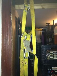 Suspension Harness Heavy Safety Harness Large Rings Industrial Belt And Hardware