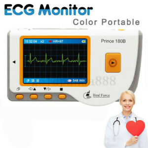 Heal Force Prince 180b Handheld Easy Ecg Ekg Portable Heart Monitor ecg Cable