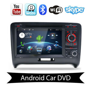 Car Gps Radio Stereo Android 7 1 For Audi Tt 2006 2011 Auto Multimedia Dvd Video