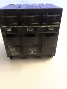 Murray Mp3100 3 Pole 100 Amp 240v Type Mp Circuit Breaker New