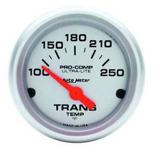 Auto Meter 2 1 16in Trans Temp Gauge 100 250