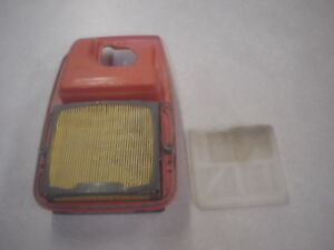 Husqvarna K760 Concrete Saw Air Filter Housing W filters used
