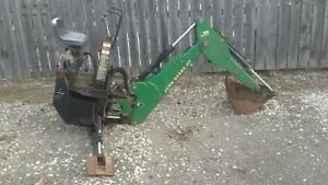 John Deere 47 Tractor Backhoe Back Hoe Attachment