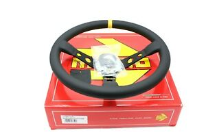 Momo Mod 07 350 Mm Leather Racing Drift Competition Steering Wheel R1905 35l