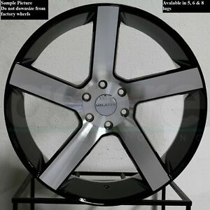4 New 22 Wheels Rims For 2013 2014 2015 2016 2017 2018 2019 Frontier 2107