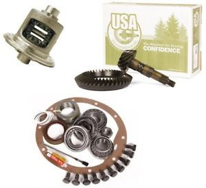 72 86 Jeep Cj Dana 30 456 Ring And Pinion Open Loaded Carrier Usa Std Gear Pkg