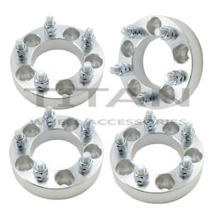 Set Of 4 1 25 5x4 5 To 5x5 Wheel Adapters Spacers 12x1 5 Studs T6 6061 Billet