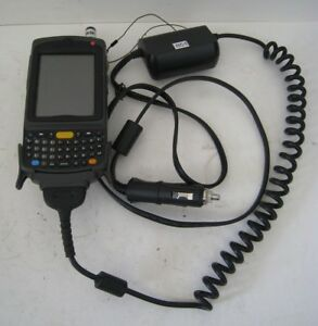 Motorola Symbol Mc75a8 2d Imager Wireless Barcode Scanner Vehicle Charger