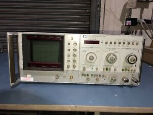 Hp Agilent 8565a Spectrum Analyzer